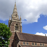 St Anne's Church in Moseley