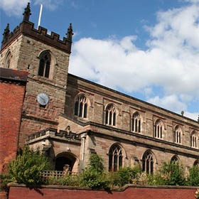 St Mary's Church in Moseley